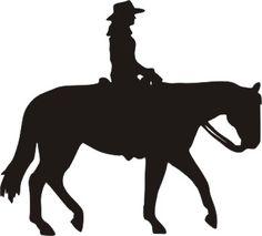 Western Pleasure Horse female rider Western Clip Art, Western Theme, Clipart  Images, Cavalli