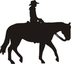 western pleasure horse with rider