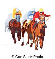 ... Horse Race Finish