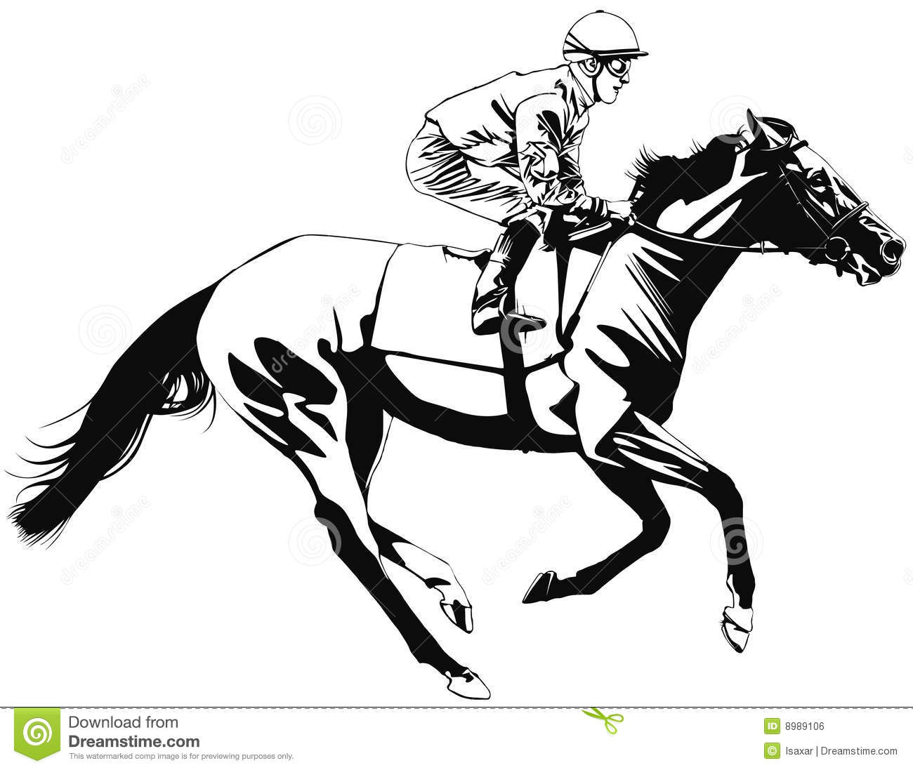 Horse Racing Clipart Free Images Clipartix