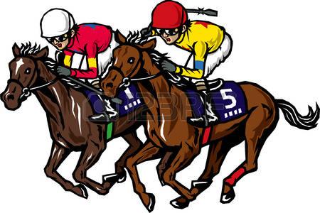 horse racing: Horse racing Illustration