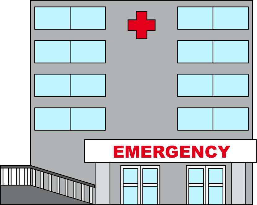 Hospital clipart 3