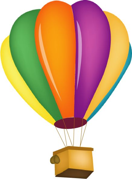 Hot Air Balloon Clip Art | Hot .