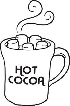 ... Hot Cocoa Clipart - clipartall ...