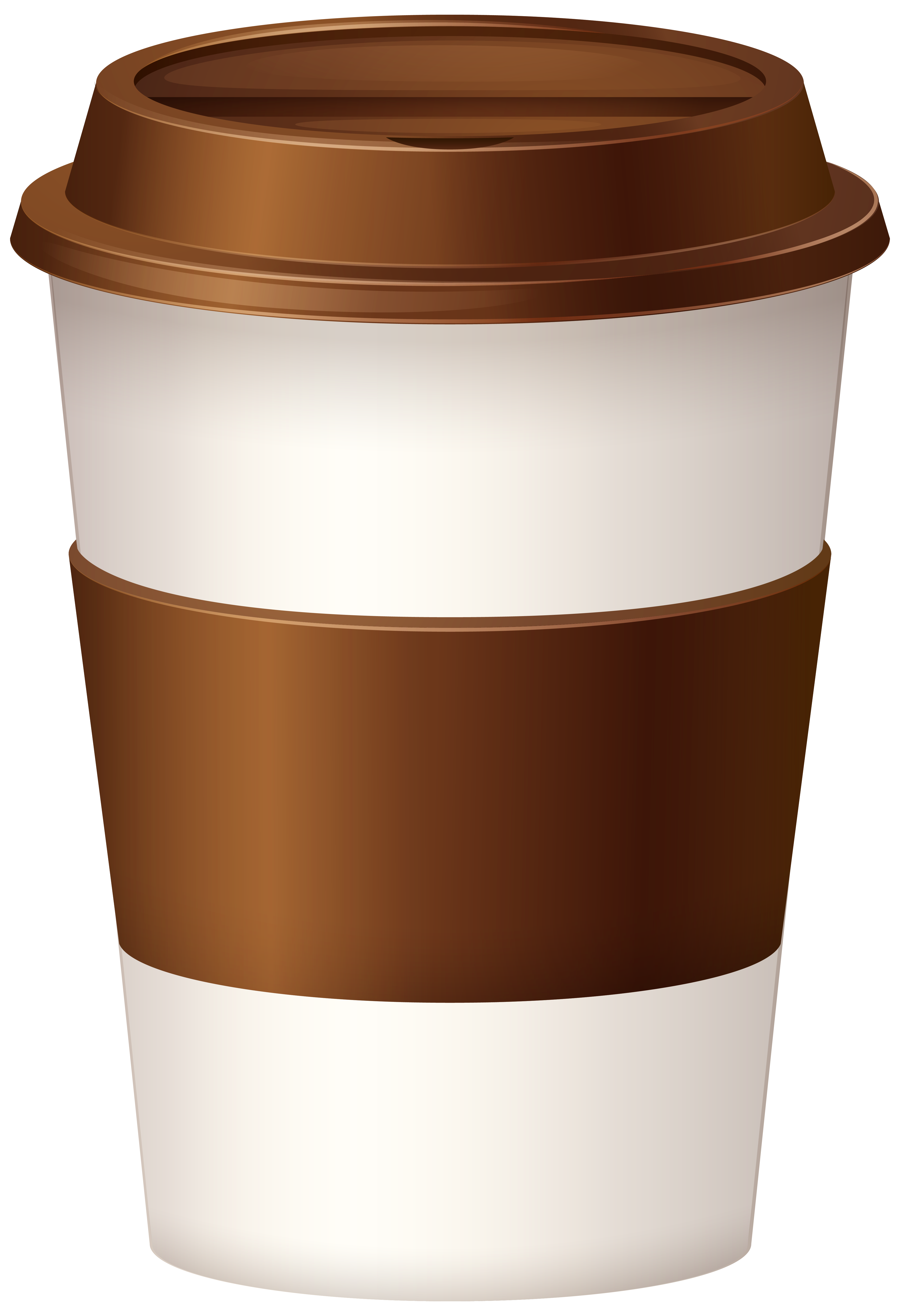 Hot coffee cup clipart image