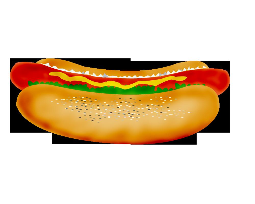 Hot Dog Clip Art