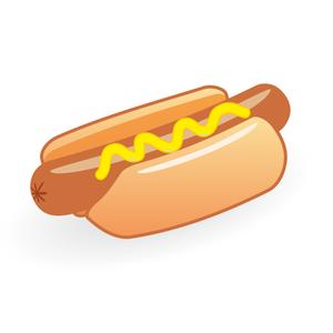 Hot Dog Free Clipart Image