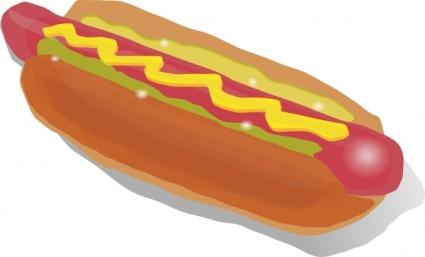 Hot Dog Sandwich clip art - Download free Other vectors