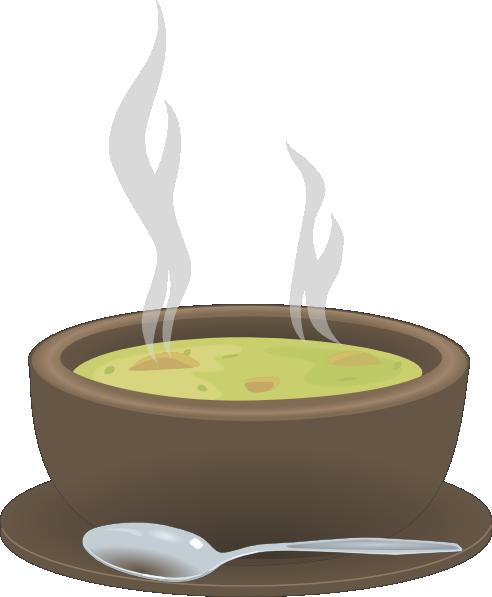 Hot Steaming Bowl Of Soup Clip Art At Clker Com Vector Clip Art