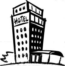 hotel clipart. hotels to your location.