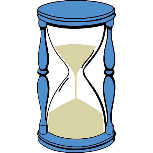 Hourglass Clipart Time Capsule #2