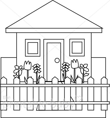 House black and white black and white house clipart mommy