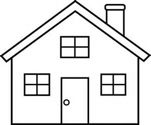 House black and white house clip art free black and white clipart