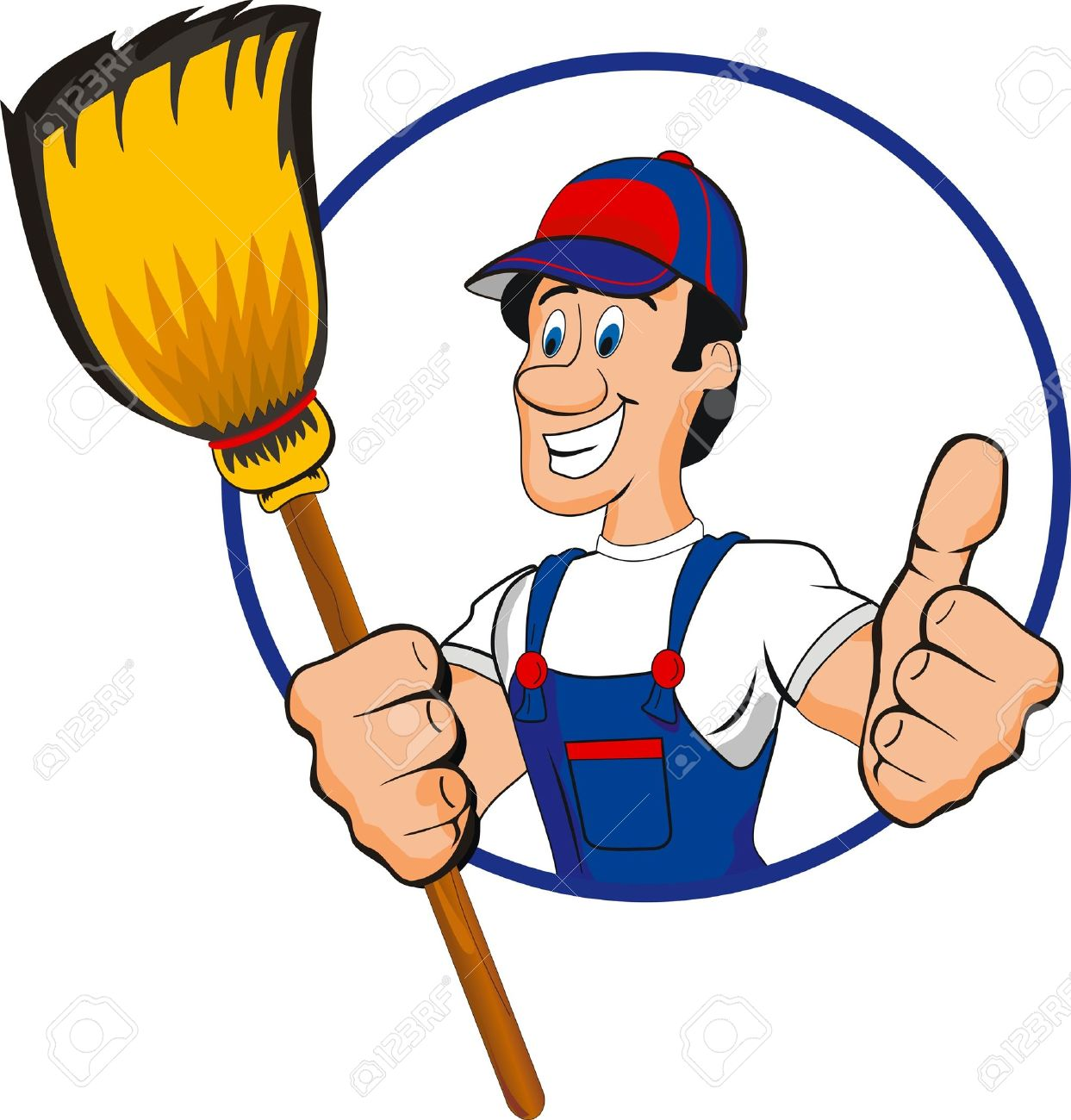 Housekeeping Clipart .