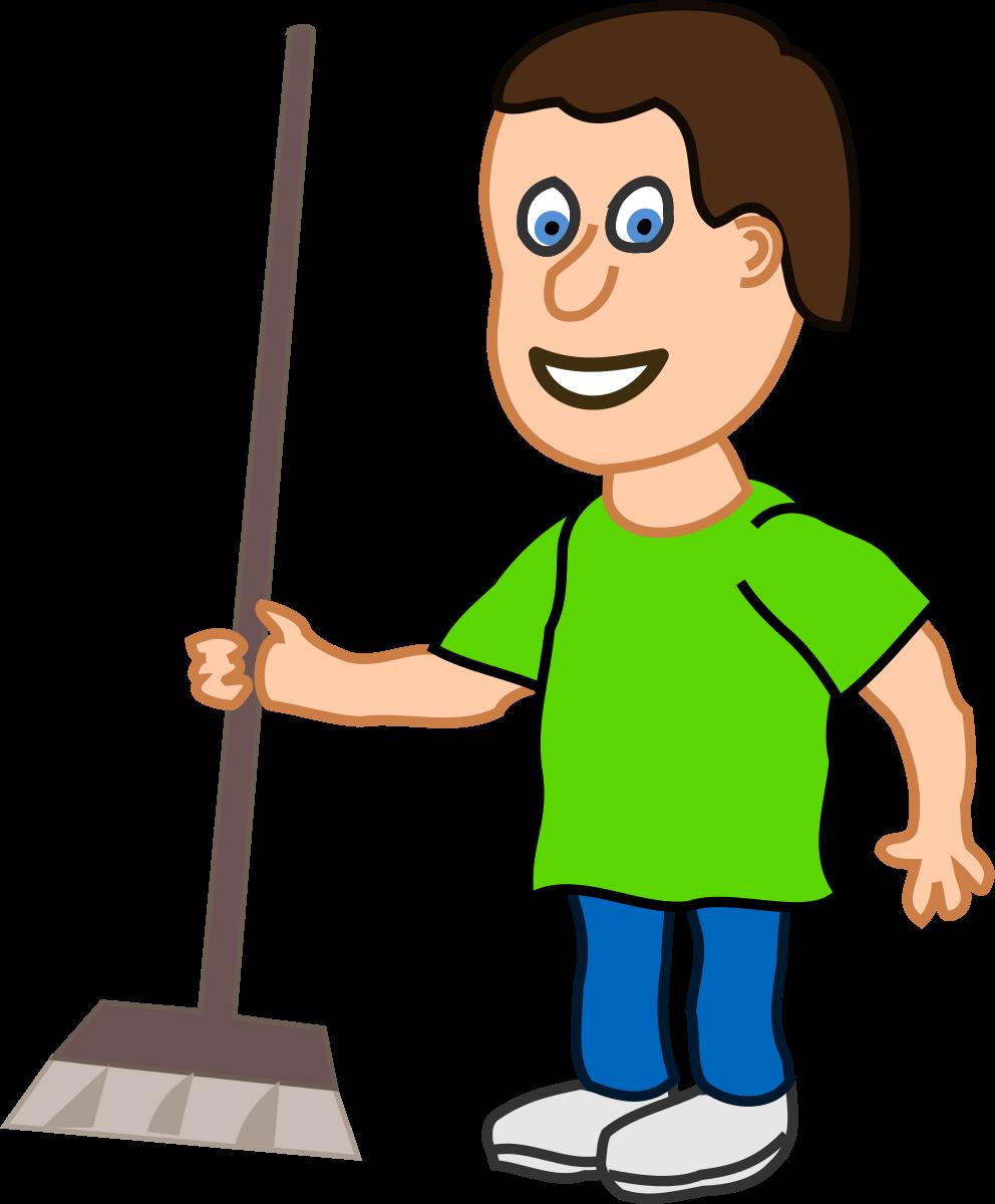 Housekeeping housekeeper clipart