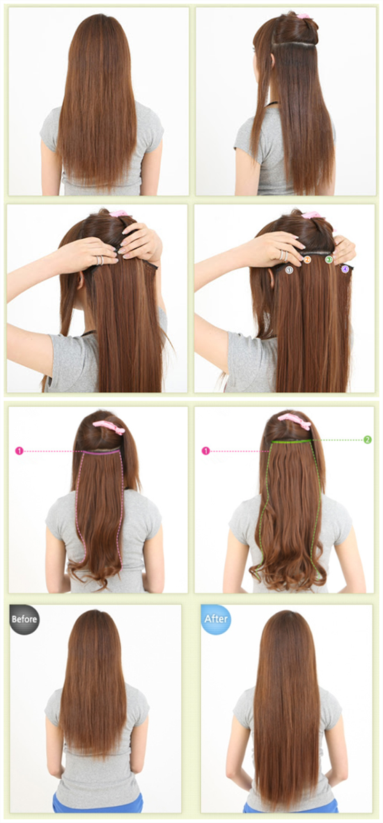 how to clip in cheap and best remy hair extensions