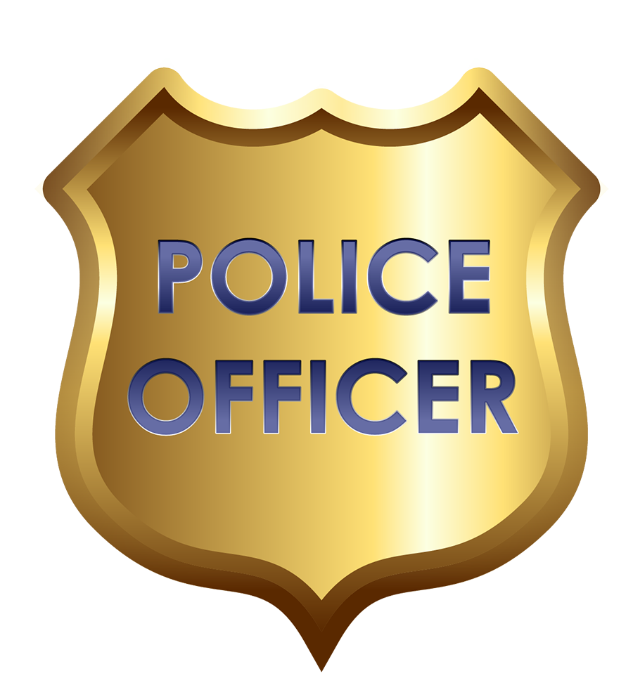 How to draw a police badge clipart
