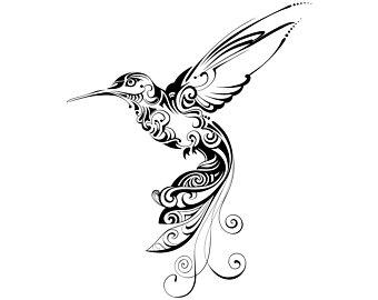 Hummingbird, Mandala, Zentangle, Animal,  Tattoo,Silhouette,SVG,Graphics,Illustration,Vector,Logo,Digital,Clipart