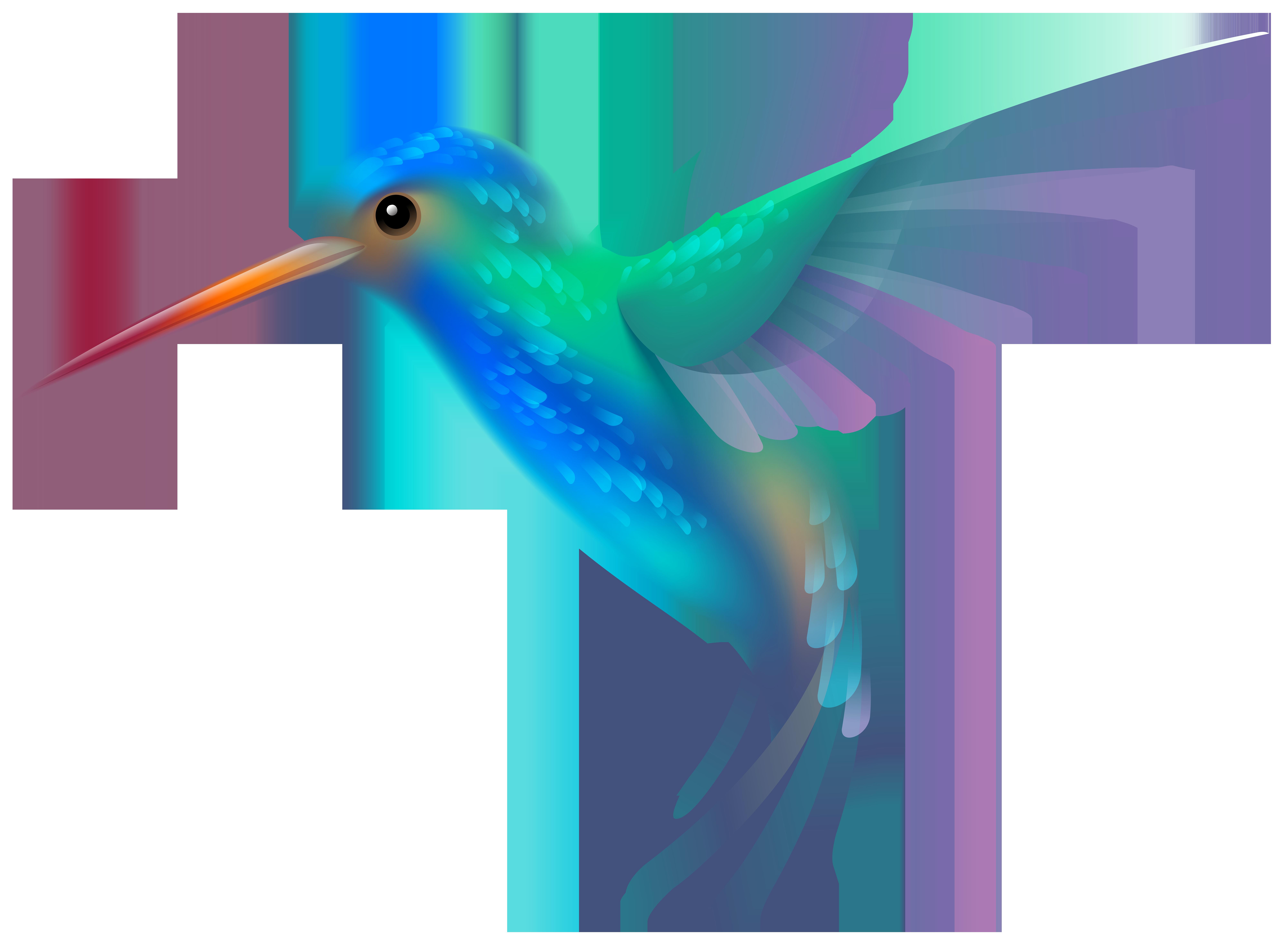 Hummingbird PNG Transparent Clip Art Image