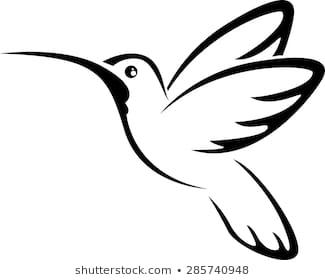 Tattoo hummingbird for you design