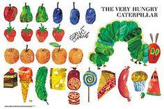 Hungry Caterpillar Clipart - .
