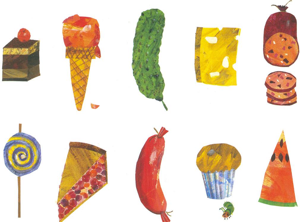 Hungry Caterpillar Food .