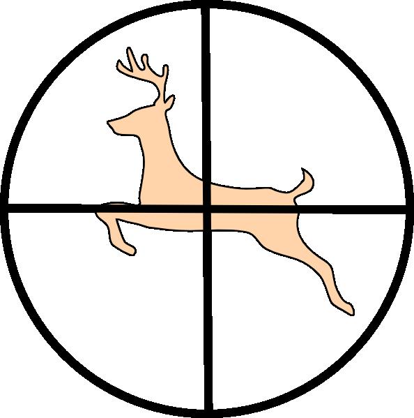 Hunting Deer Clip Art At Clker Com Vector Clip Art Online Royalty