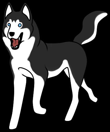 Husky Clipart-Clipartlook.com-357