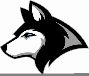 Husky Mascot Clipart Image