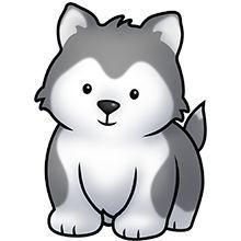 Husky Puppy Clipart Husky Drawing, Puppy Clipart, Gato Anime, Wolf Husky,  Husky