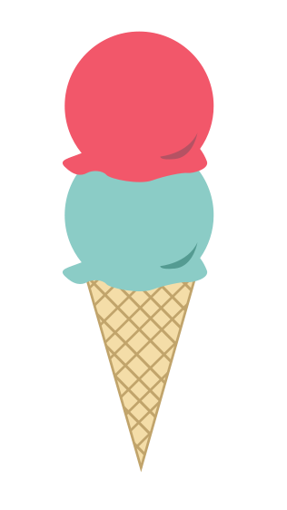 Ice cream cone clipart kid