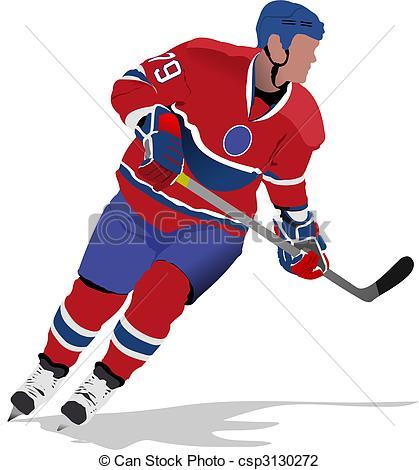 ... Ice hockey players Ice hockey players Clip Artby ...