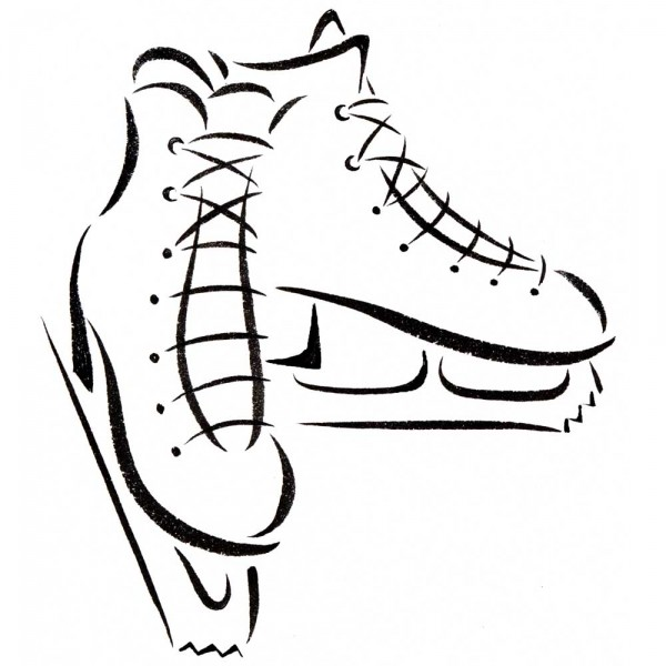 Ice Skates icon « Sandy Haight Illustration