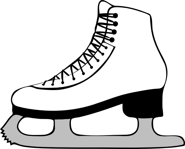 Ice Skating Clip Art At Clker Com Vector Clip Art Online Royalty