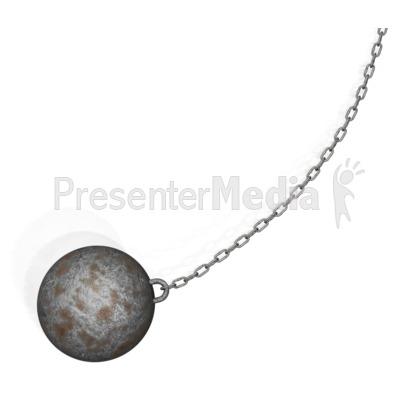ID# 10224 - Wrecking Ball - Presentation Clipart