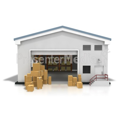 ID# 8381 - Warehouse Boxes .