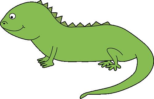 Iguana Clipart 1