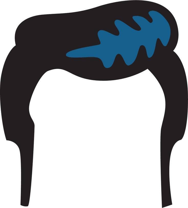 Image Detail For Elvis Hair Clip Art Elvis Pinterest Clip