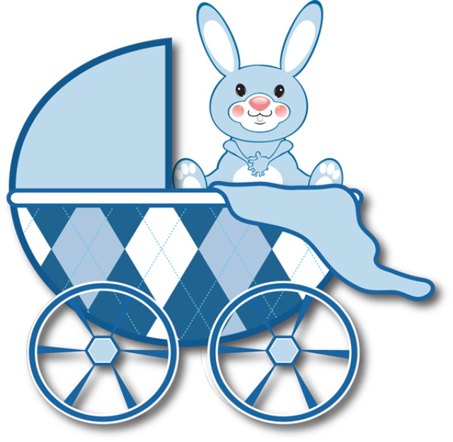 Image of baby stroller clipart 6 baby boy stroller clipart 2