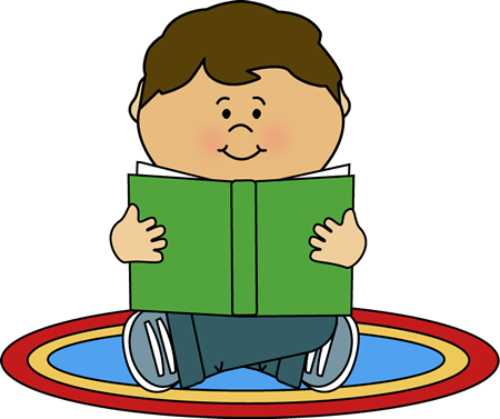 Image of Carpet Clipart Kid Reading On A Rug Clip Art Kid