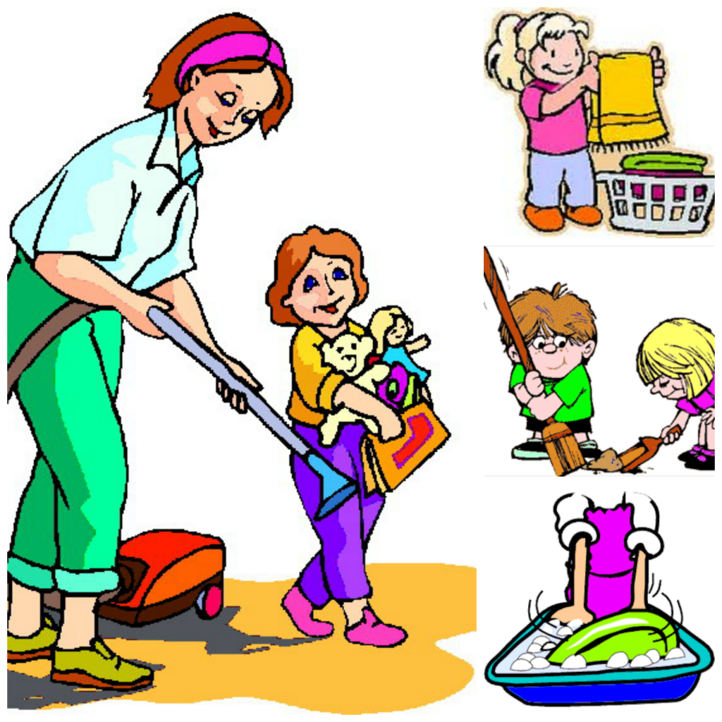Image of Chore Chart Clipart Chores Clipart