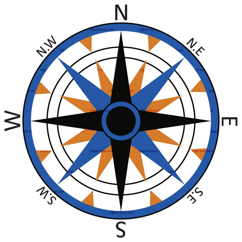 Image Of Clip Art Compass