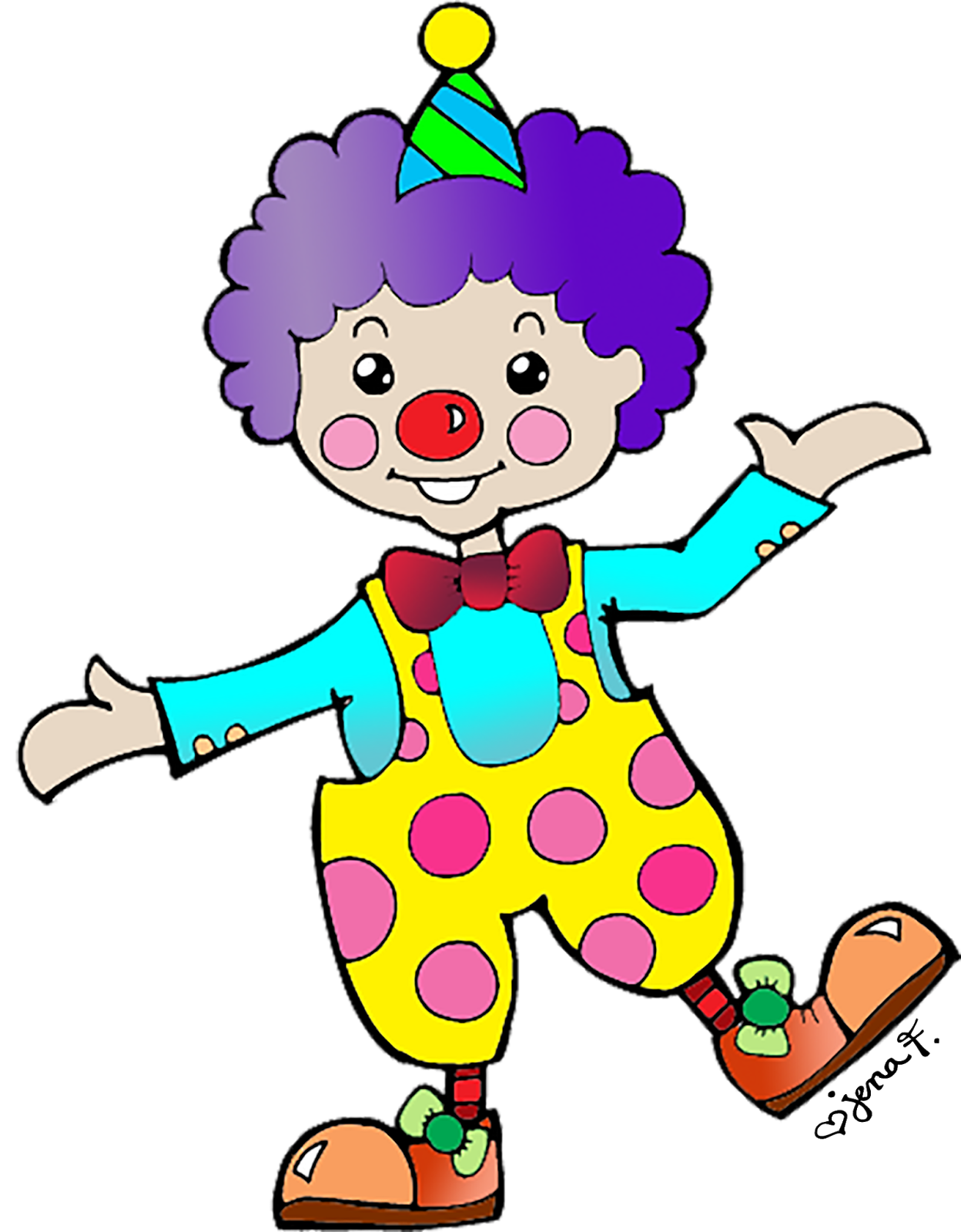Images For Birthday Clown Clipart. Accidental Attention