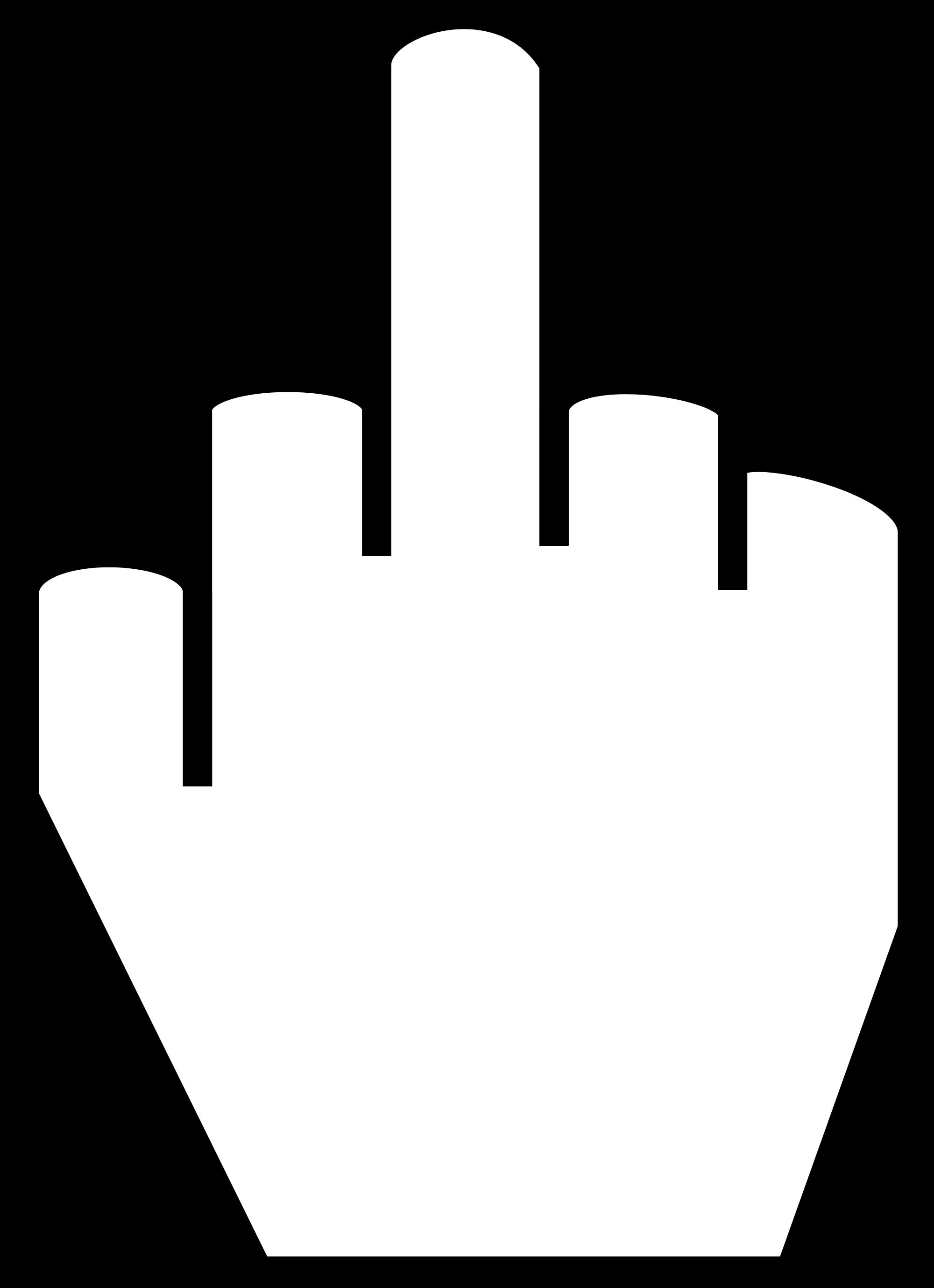 Images For u0026gt; Middle Finger Vector