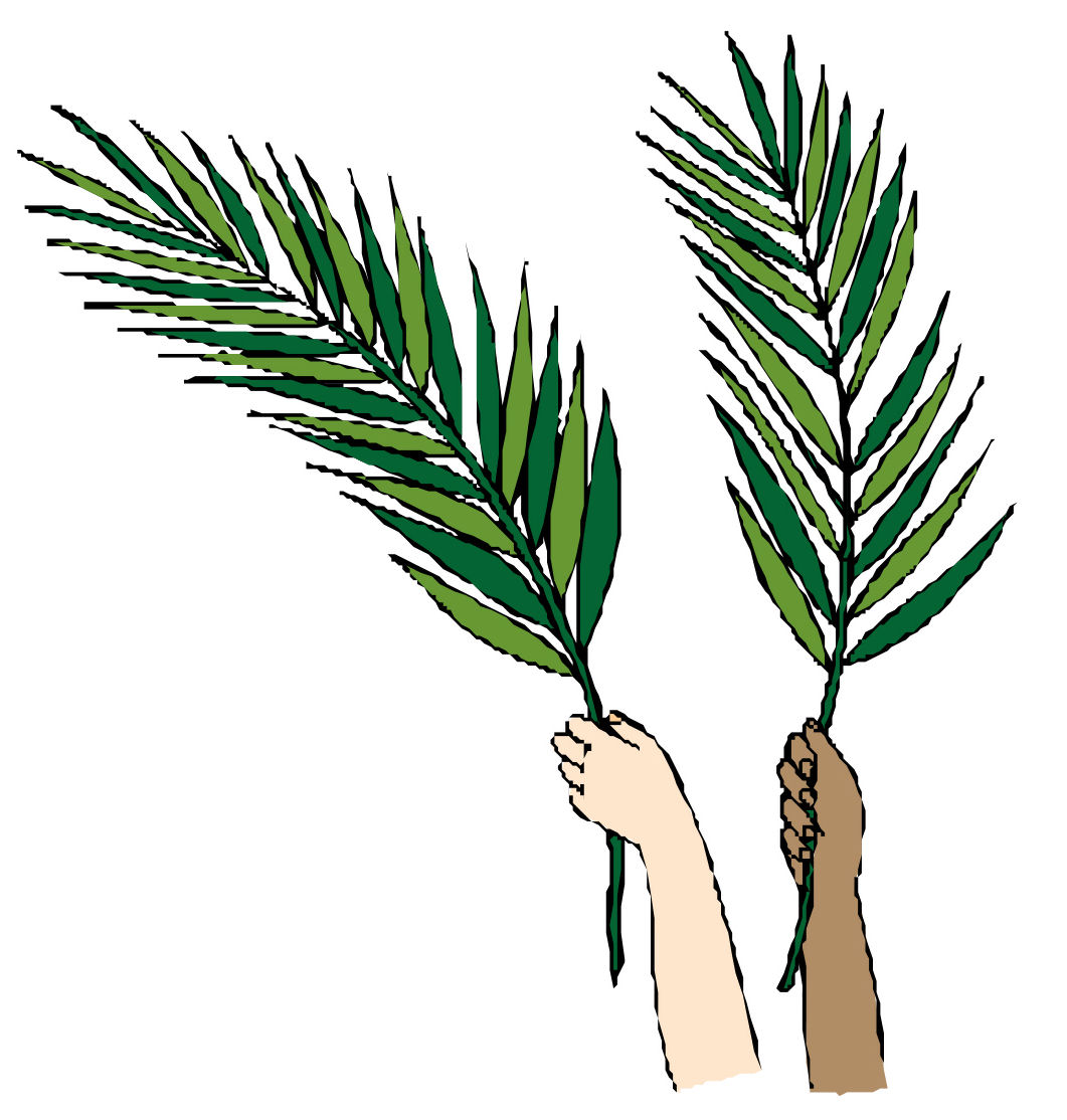 Images For Palm Branch Clip Art