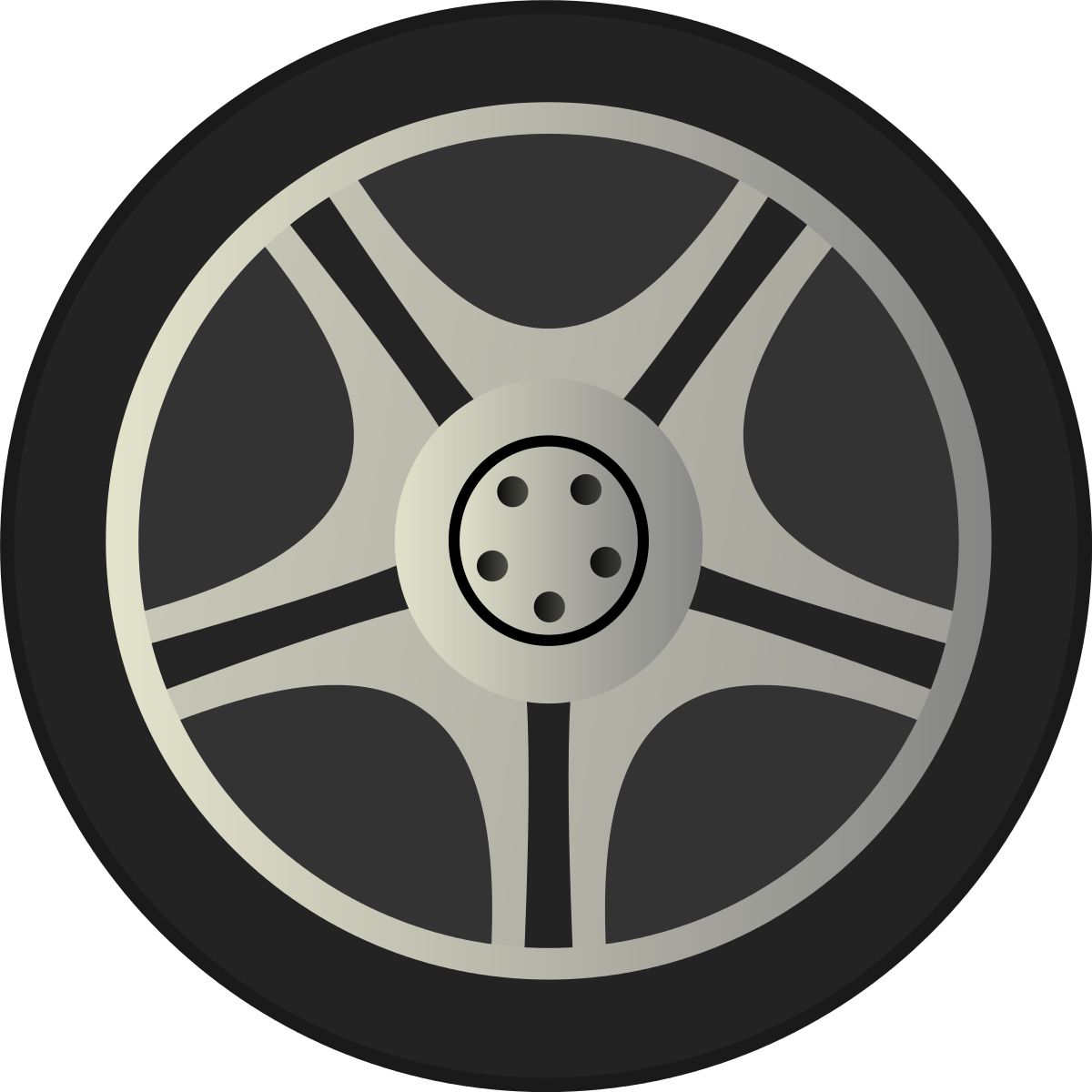 Images For Tire Wheel Clipart