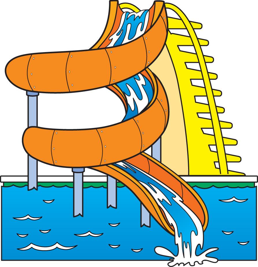Images For Water Slides Clip Art