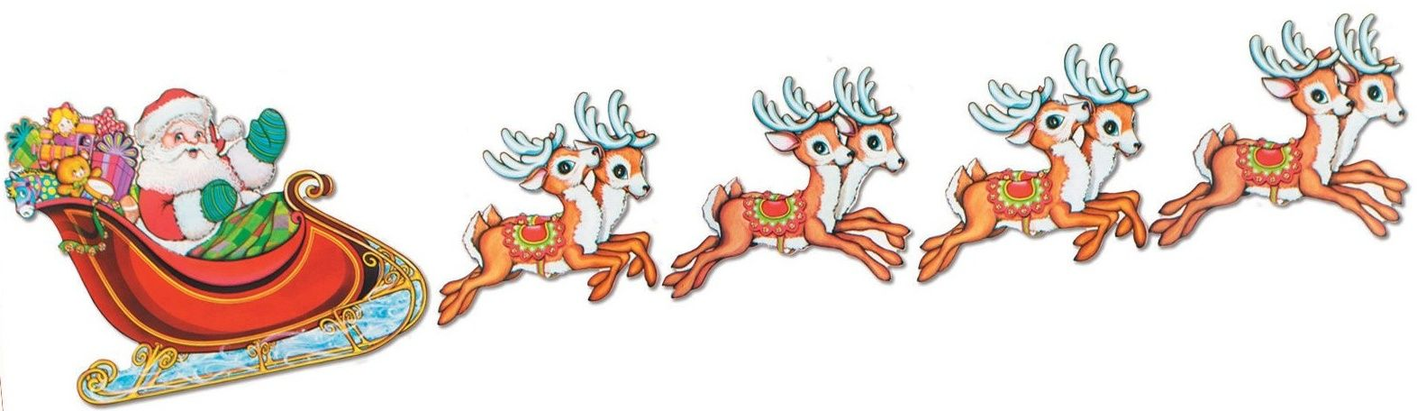 Images Of Santa And Sleigh | .