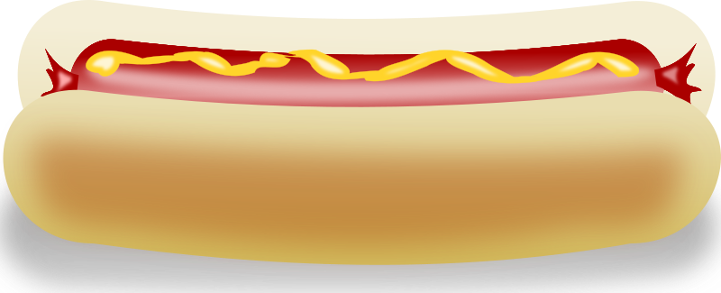 In need of a hotdog sandwich clip art for use on your food projects? You can use this hot dog clip art on your menus, blogs, flyers, posters, e-books, ...