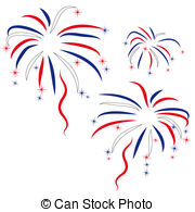 . ClipartLook.com firework in honour of Independence Day